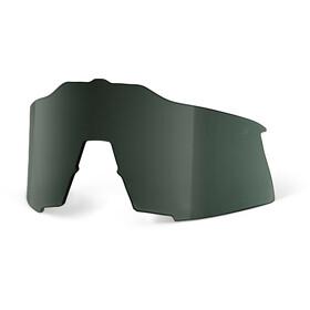 100% Speedcraft Reserve Lens Lang, grey/green